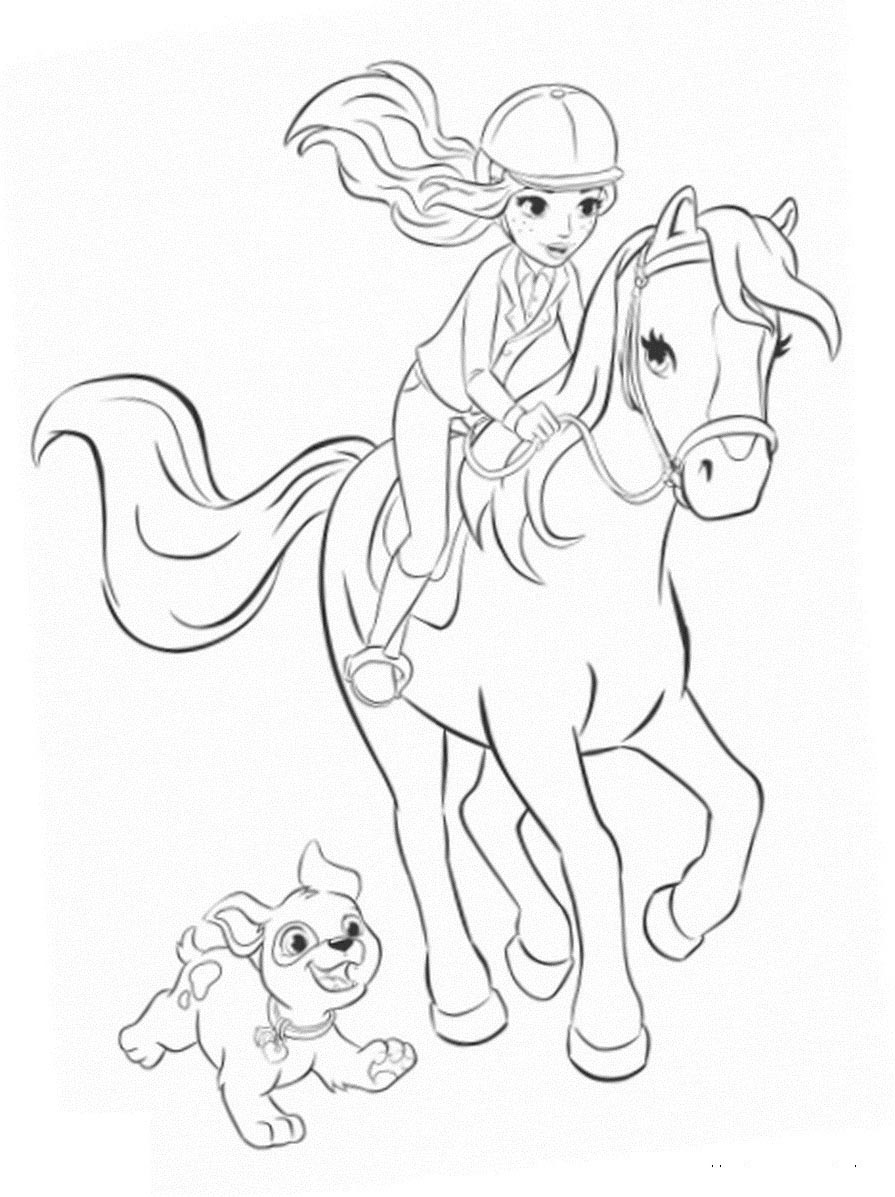 39 Horse Coloring Pages For Kids - Visual Arts Ideas