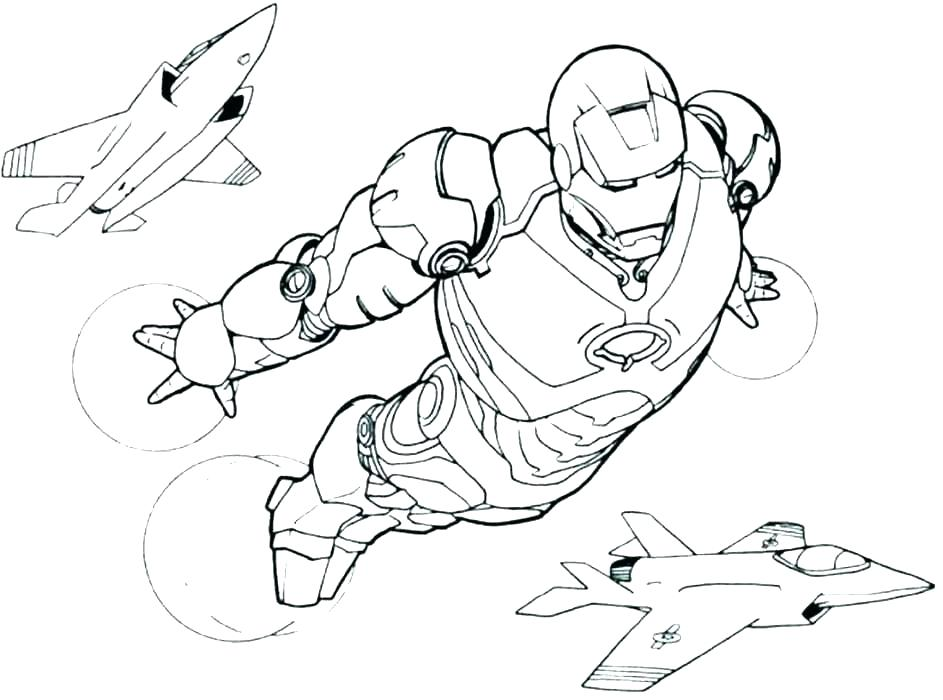 Iron Man Coloring Pages For Kids Visual Arts Ideas